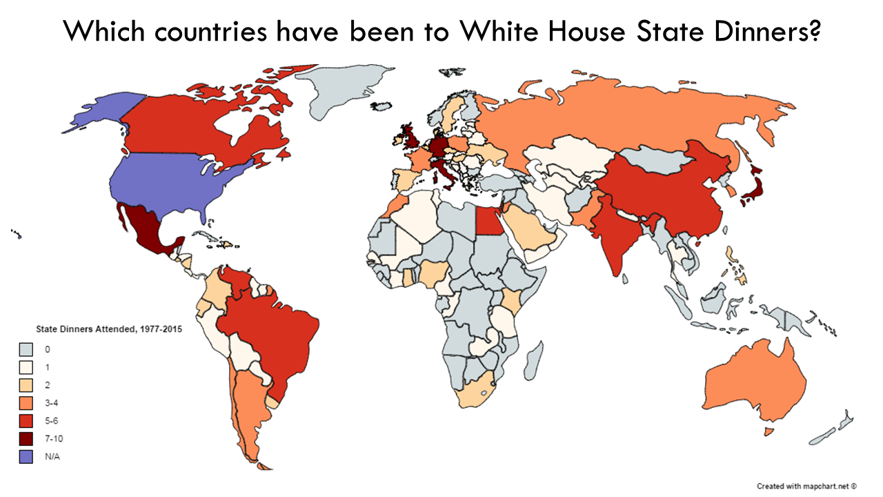 Guess Who's (Not) Coming to Dinner? The Unrepresentative Statistics of White House State Dinners