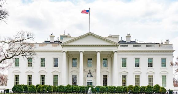 An image of the White House in Washington DC