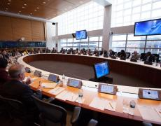 An image of the IMF/World Bank Meetings.
