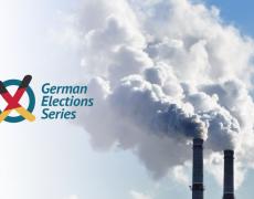 An image of carbon dioxide smokestacks.