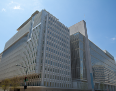 An image of the World Bank exterior in Washington DC