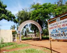 Outside a children's hospital in Jinga, Uganda. Souce: Flikr