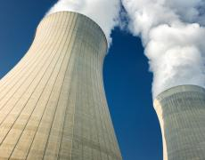 A nuclear plant