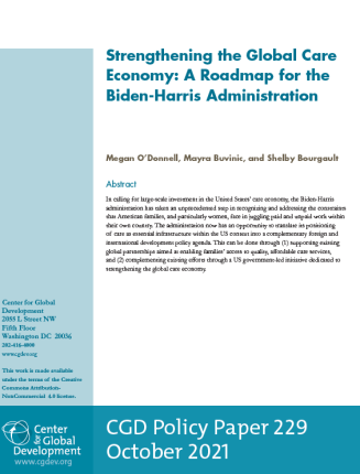 An image of the policy paper.