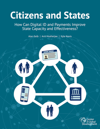 Cover of the Citizens and States report