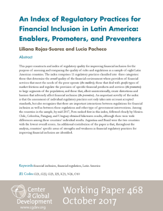 Cover of Working Paper 468