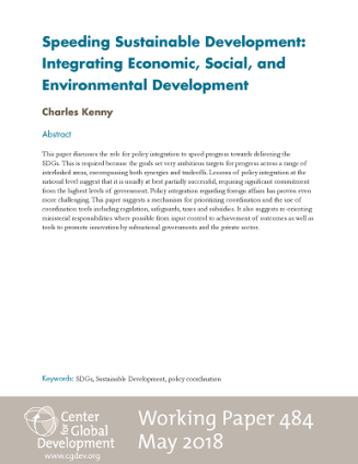 Cover of Working Paper 484